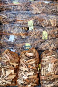 Allume-feu naturel (bois d'allumage) en sac
