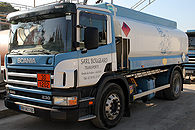 Camion de livraison fioul/fuel
