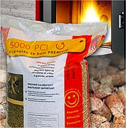 Sac de granulés de bois (pellets) 5000 PCI