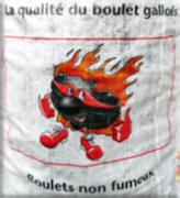 Sac charbon boulets défumés