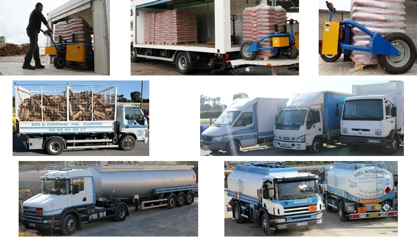 Véhicules et moyens de livraison Bougeard Combustibles